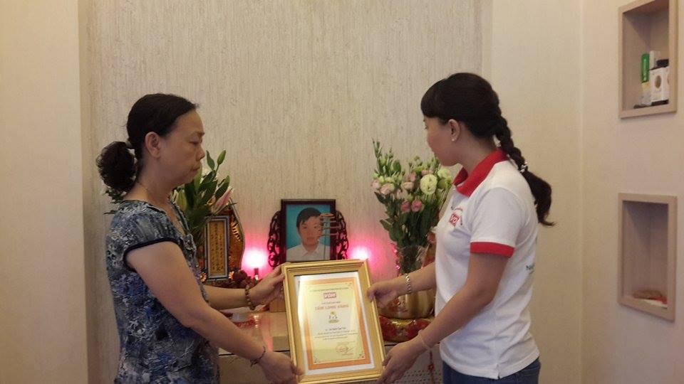 Số tiền phúng điếu của em Nguyễn Ngọc Toàn gần 150 triệu đồng.