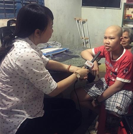 Radio kỳ 326: Cậu bé ung thư xương và khát khao bước tiếp.
