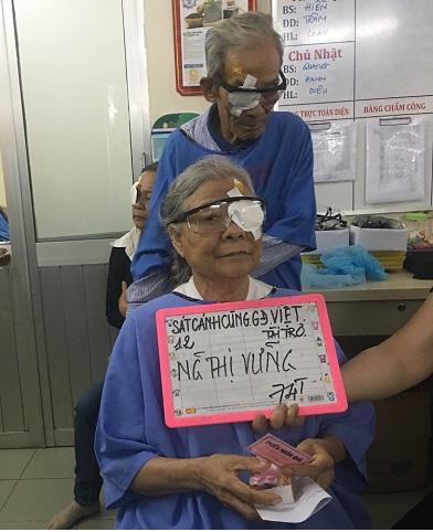 SCCGDV tài trợ 600 ca mổ mắt tại Kiên Giang và TPHCM