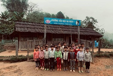Vận động xây dựng điểm trường tiểu học Thăm Hón- tỉnh Nghệ An