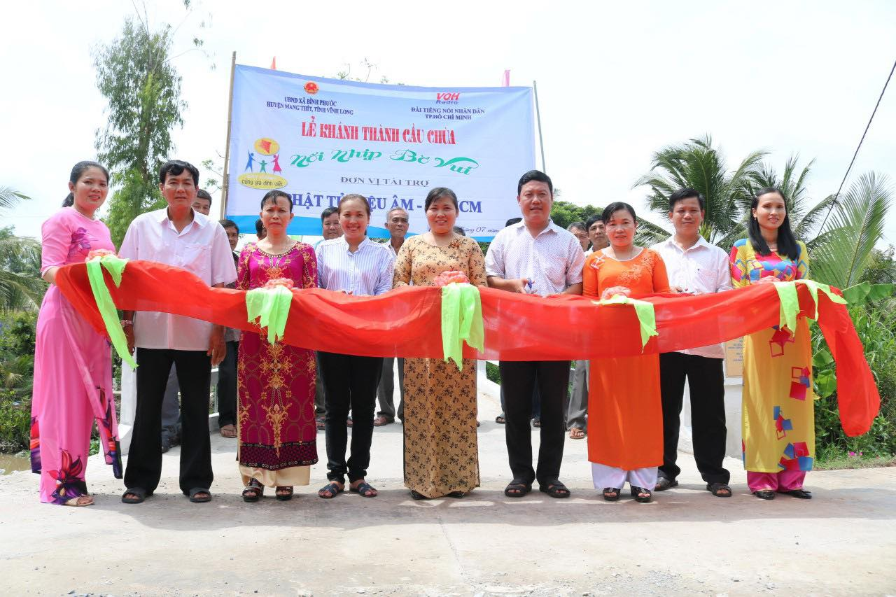 Khánh thành 3 cây cầu mơ ước tại tỉnh Bạc Liêu và tỉnh Vĩnh Long